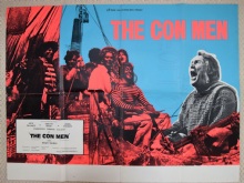 Con Men, Original UK Quad Poster, Jack Palance, '72